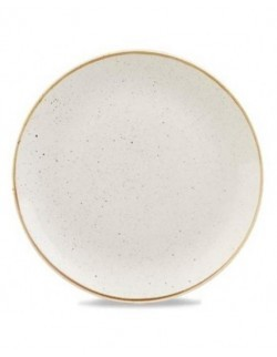 Talerz deserowy 165 mm biały - CHURCHILL Stonecast Barley White
