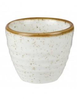 Naczynie na dip 57 ml białe - CHURCHILL Stonecast Barley White