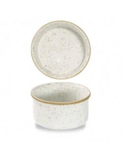 Naczynko na dipy i do zapiekania 195 ml biały - CHURCHILL Stonecast Barley White