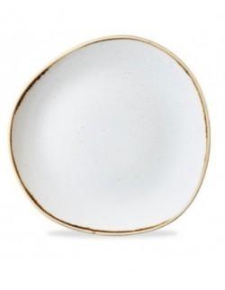 Talerz płaski Trace 186 mm biały - CHURCHILL Stonecast Barley White