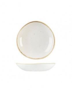 Miska Trace 1100 ml biała - CHURCHILL Stonecast Barley White