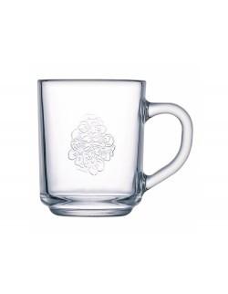 Kubek szklany hartowany Floral 250 ml LUMINARC