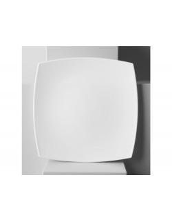 Talerz płaski 26,5 cm - Quadrato Białe