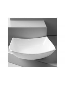 Talerz do zupy 20 cm - Quadrato Białe