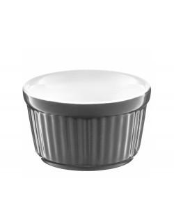Forma ceramiczna do zapiekania / ramekin AMBITION Ginger 9 cm szara