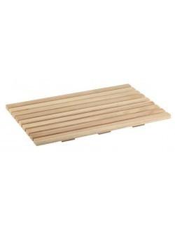 Deska prostokątna drewniana do krojenia pieczywa GN 1/1 530 x 325 mm APS