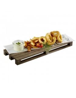 Deska do serwowania z drewna brzozowego 400 x 150 mm - APS