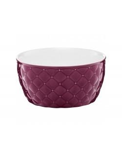Salaterka pikowana AMBITION Glamour 13,5 cm fioletowa