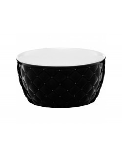 Salaterka pikowana AMBITION Glamour 13,5 cm czarna