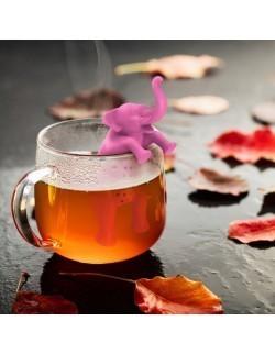 Zaparzacz do herbaty silikonowy Słonik - Fred and Friends