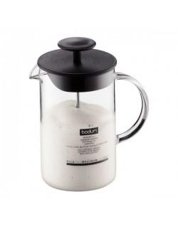 BODUM - Spieniacz do mleka 0,25L, czarny, Latteo