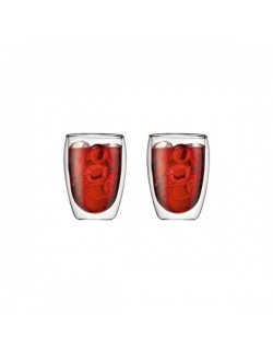 BODUM - Zestaw 2 szklanek 0,35 l., Pavina