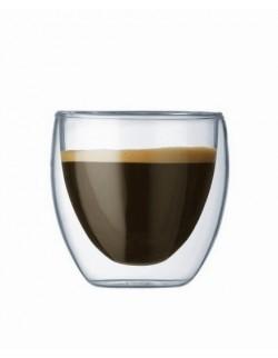 BODUM - Zestaw 2 szklanek 0,08 l., Pavina