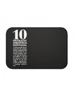 AL - Podkładka stołowa 10 Przykazań czarna