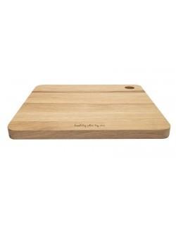 Deska drewniana dębowa kwadratowa 27 x 27 cm - HPBA