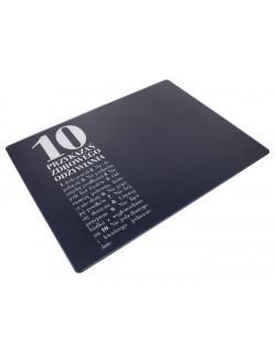 Deska/podkładka szklana 10 przykazań HPBA Anna Lewandowska